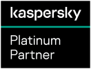 Kaspersky Platinum Partner Logo